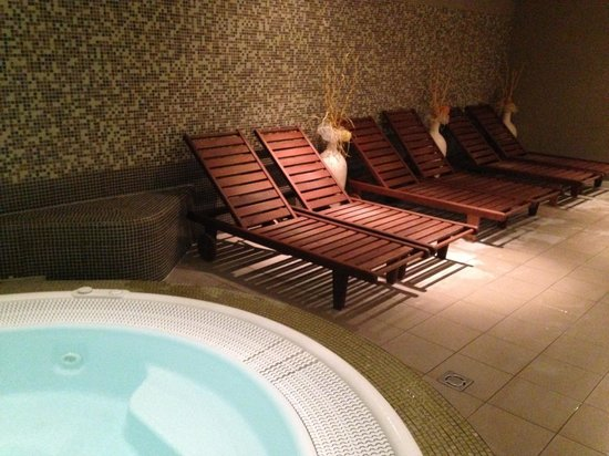 Hotel Mineral: Wellness area