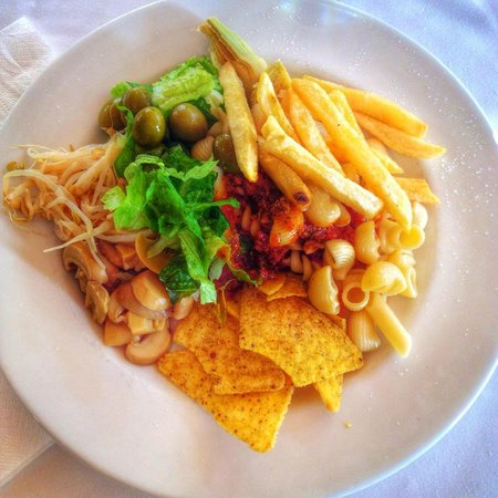 THB Tropical Island: Exempel på lunch