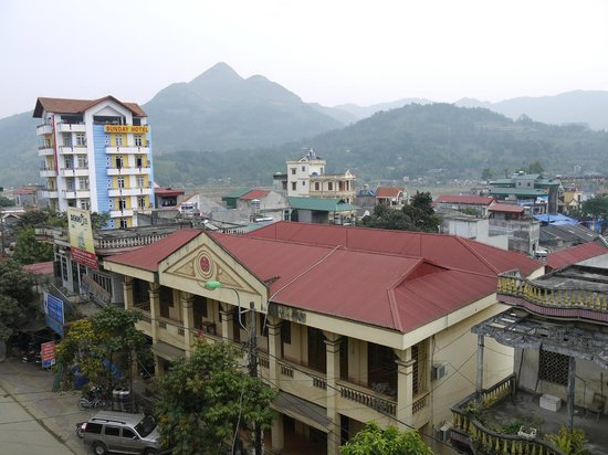 Sao Mai Hotel: вид с балкона
