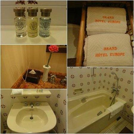 Hotel Europe Nagasaki : バスルーム
