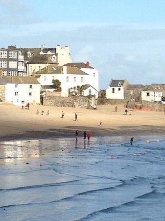 Tregenna Castle Resort: Sunny February day in St Ives