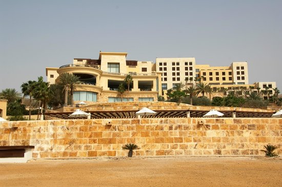 Kempinski Hotel Ishtar Dead Sea: Amazing views of the sea from every hotel area
