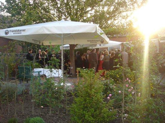 Hotel Rheinischer Hof: Sommerterrasse für Empfänge