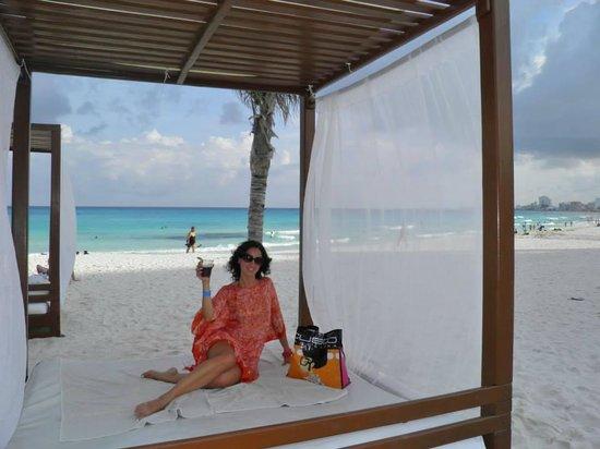 Krystal Cancun: I gazebo in spiaggia