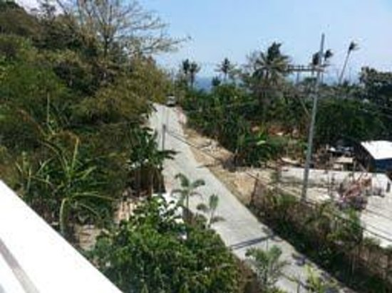 Tanawin Resort and Luxury Apartments: View from balcony