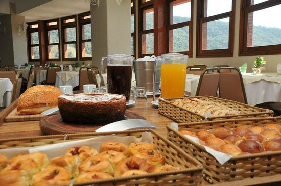 Panorama Hotel & Spa: Gastronomia