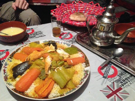 Gite Atlas Mazik : The tajine that was prepared for 50dh each
