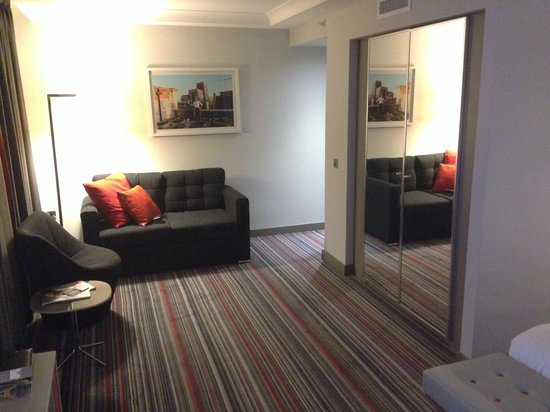 Pullman London St Pancras Hotel : Junior suite