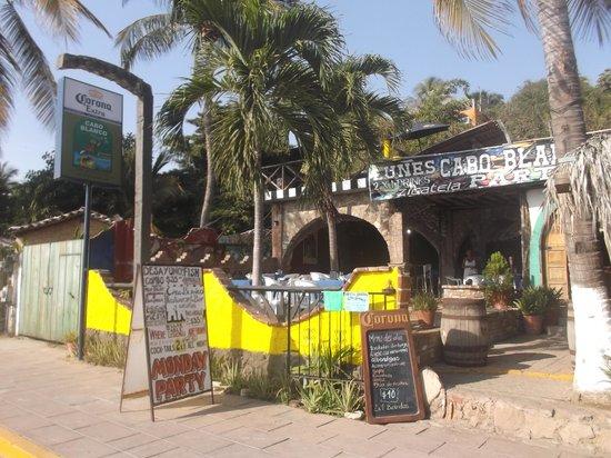 Cabo Blanco Bar : Photo du 7 mars 2014.