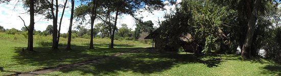 Thorntree River Lodge : View of the indigenous grounds