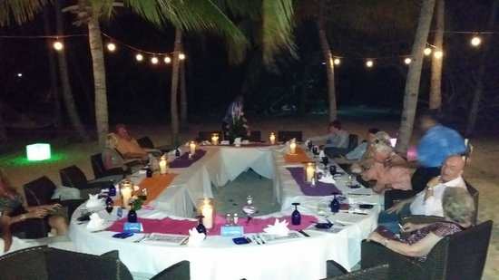 Peter Island Resort and Spa: Wedding Dinner reception