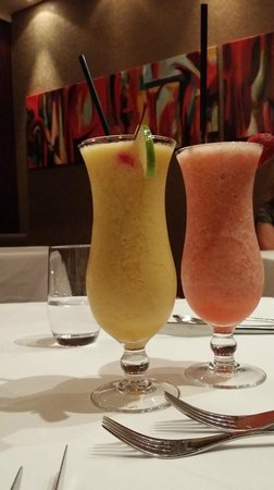Opus Restaurant: Juice blends