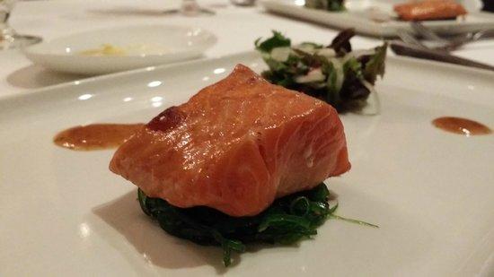 Opus Restaurant: Tasmanian trout