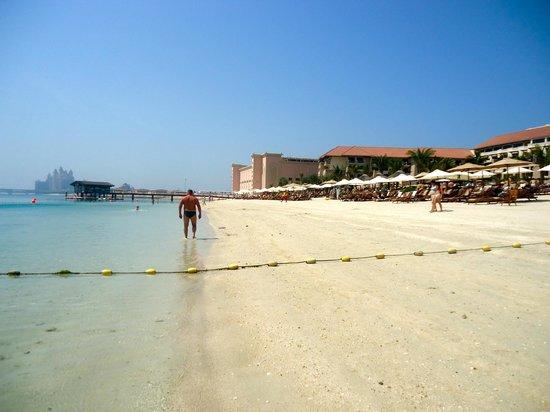 Sofitel Dubai The Palm Resort & Spa : Plage de l'Hôtel