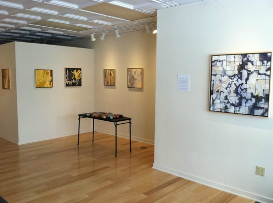 "Corners Gallery : Barbara Page's exhibit, ""Tectonics"" 2014"