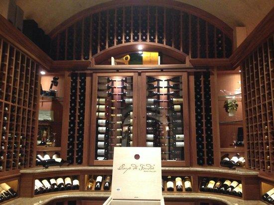 The Boerne Wine Company : champange room