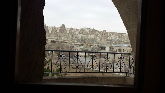 Elif Star Caves : view from window /room 4