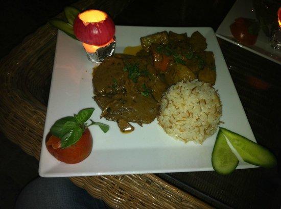 Acacia Dahab Hotel : our last dinner