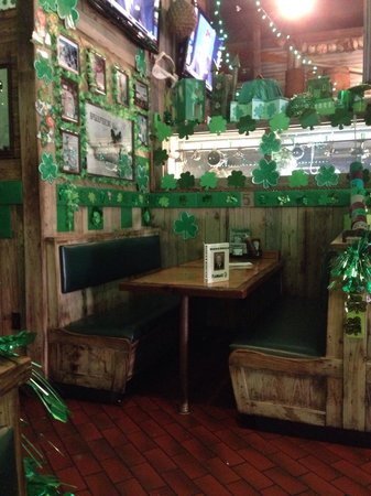 Flanigan's Seafood Bar and Grill: Spécial St Patrick