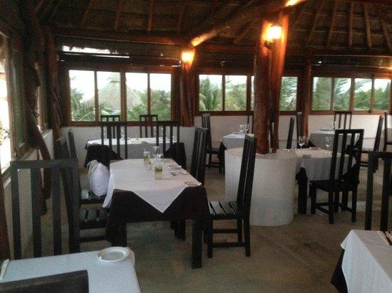Da Luisa : top floor dining area
