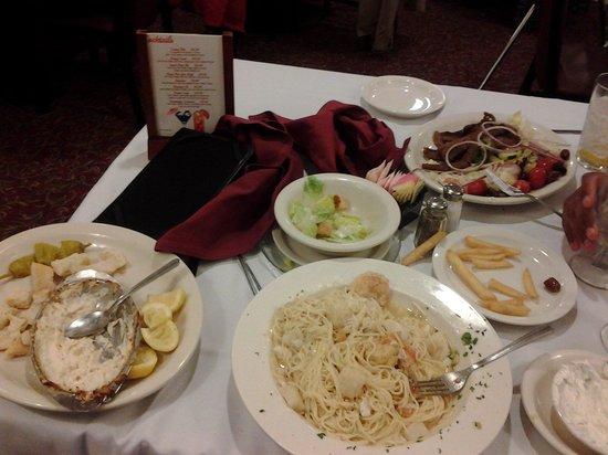 Romanos Restaurant : our food