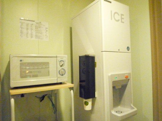 Daiwa Roynet Hotel Hachinohe: 電子レンジ&製氷機