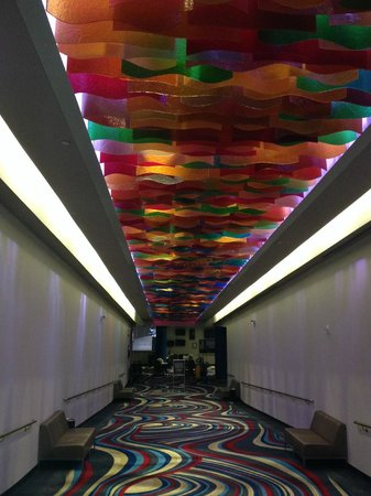 Riverwind Hotel : Skywalk
