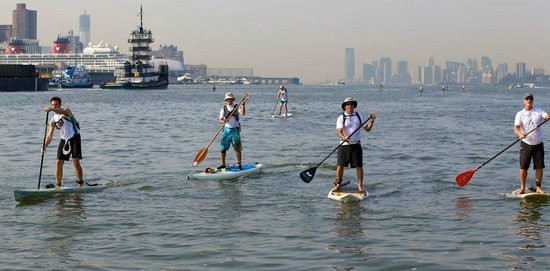 Paddle Surf New Jersey: SEA Paddle NYC, summer 2012