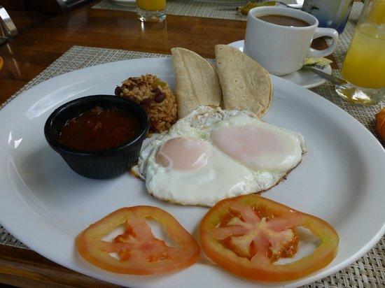 La Gaviota Tropical : Breakfast 2nd course one day
