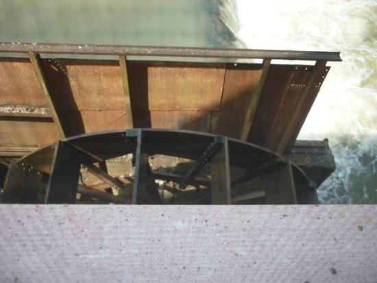 Water Wheel at War Eagle Mill