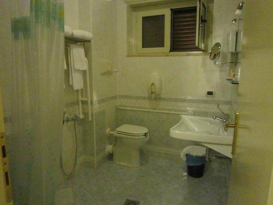 Villa Gaia Hotel : bagno con doccia