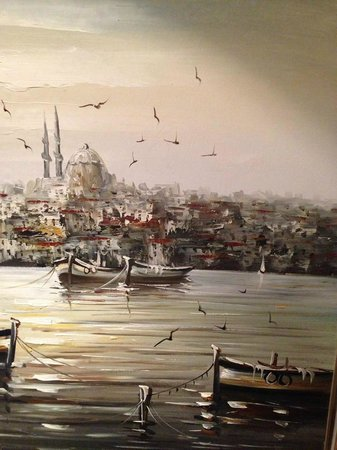 Rixos Taksim Istanbul: paintings in the room