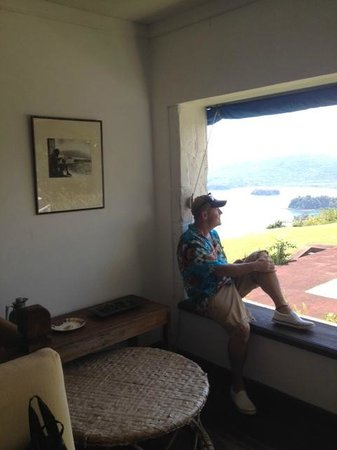 Noel Coward's Blue Harbour : A room with a view at Firefly