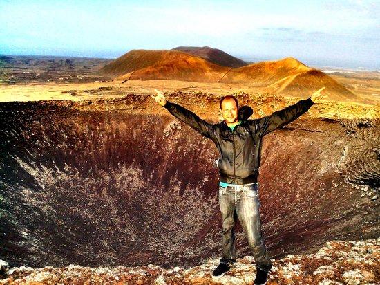 Surf Riders Fuerteventura : Vulcano crater in Lajares