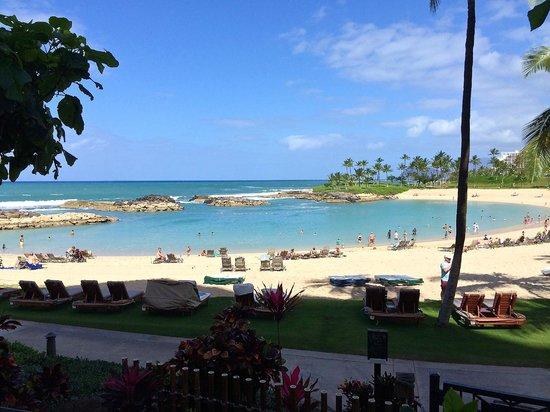 Marriott's Ko Olina Beach Club: The man made lagoon