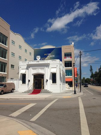 Miami Design District : On the corner of 40th and 2ave