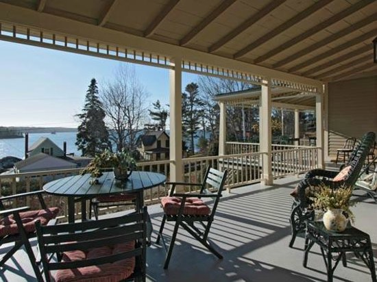 Five Gables Inn : A View from the Porch