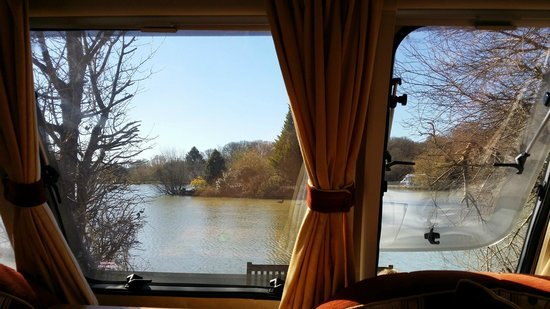 Sumners Ponds : view from the van