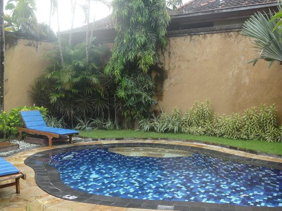 Parigata Villas Resort: Бассейн который чистили сутки