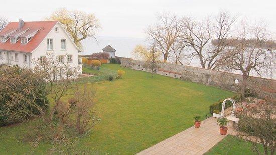 SchlossHotel Wasserburg: Zimmeraussicht