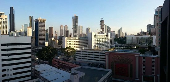 Clarion Victoria Hotel and Suites Panama: View from my room