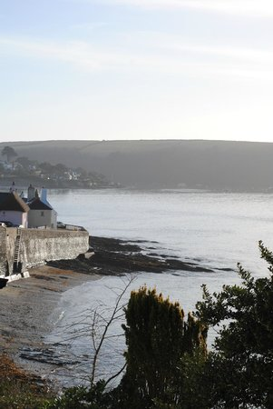 Hotel Tresanton: View of Beach area and St Mawes from room