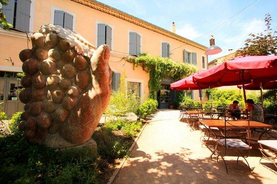 Hotel La Marbrerie: Coin Restaurant