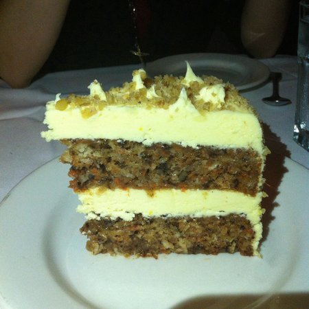 Morton's Steak House : Carrot cake - more cream than cake. Cedele offers better carrot cake at about 1/5 of the price.