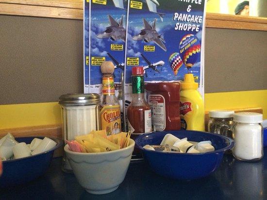 Waffle & Pancake Shoppe : Fixin's
