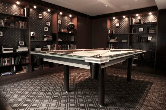 The James Chicago: The Library Billiards Room