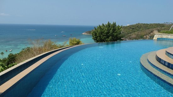 Ko Tao Resort: The top pool - amazing!