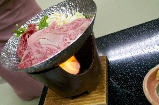 Takayama Kanko Hotel: Hida beef