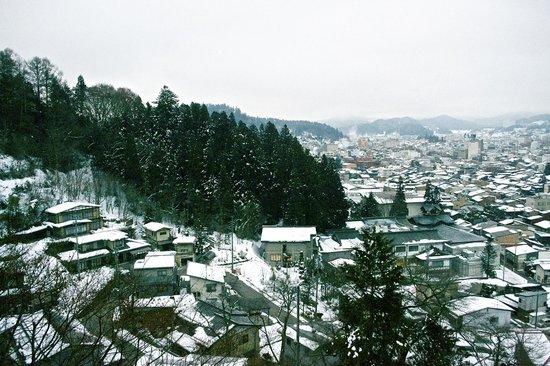 Takayama Kanko Hotel: Morning view