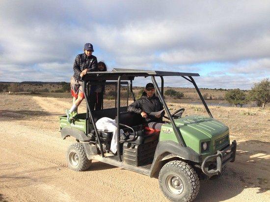 Rough Creek Lodge : Mule ride